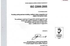ISO 22000 2005 ukas